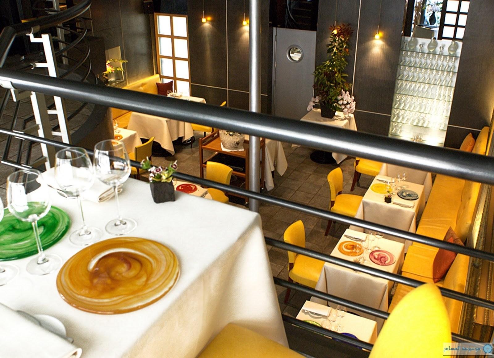 اشهر المطاعم المتميزة في باريس