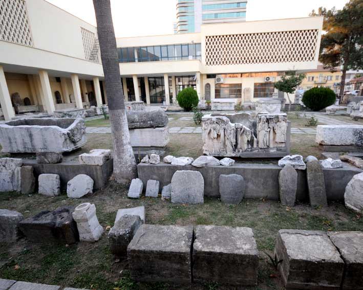 أنشطة في متحف علم الآثار في أضنة تركيا