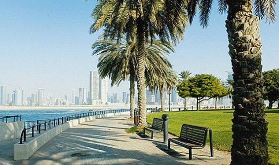 أنشطة في حديقة شاطئ الممزر دبي الامارات