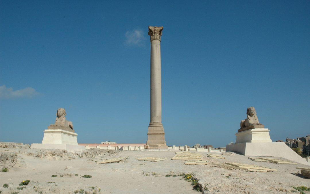 معبد السرابيوم في الاسكندرية