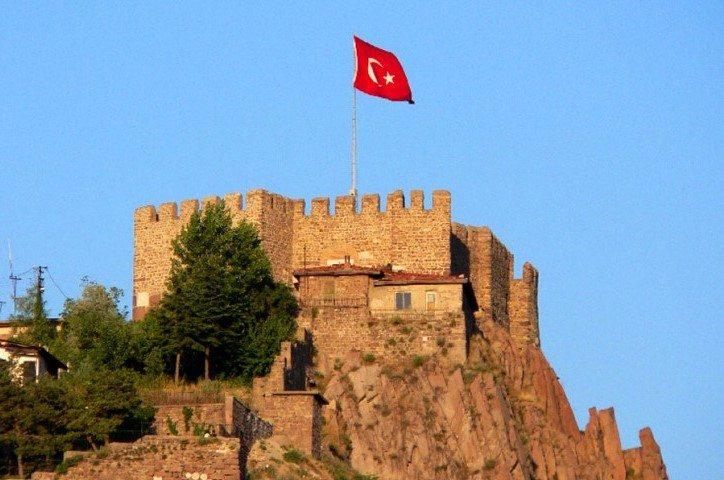 أنشطة في قلعة انقرة تركيا