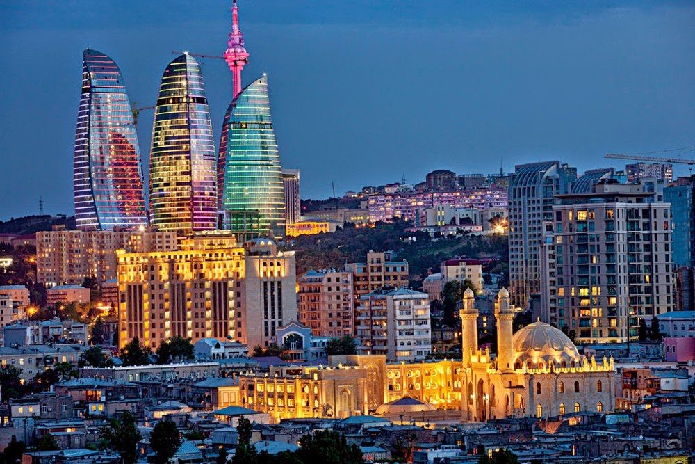 The most important cities of Azerbaijan
