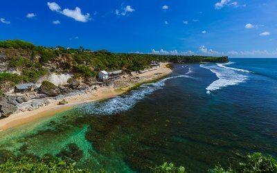 شواطئ حديثة في جزيرة بالي