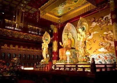 معبد سن بوذا الاثرى فى سنغافورة