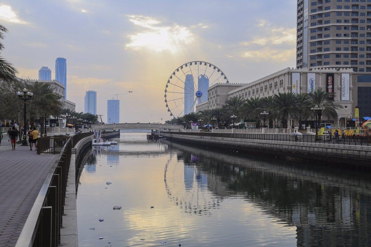 القصباء الشارقة الامارات