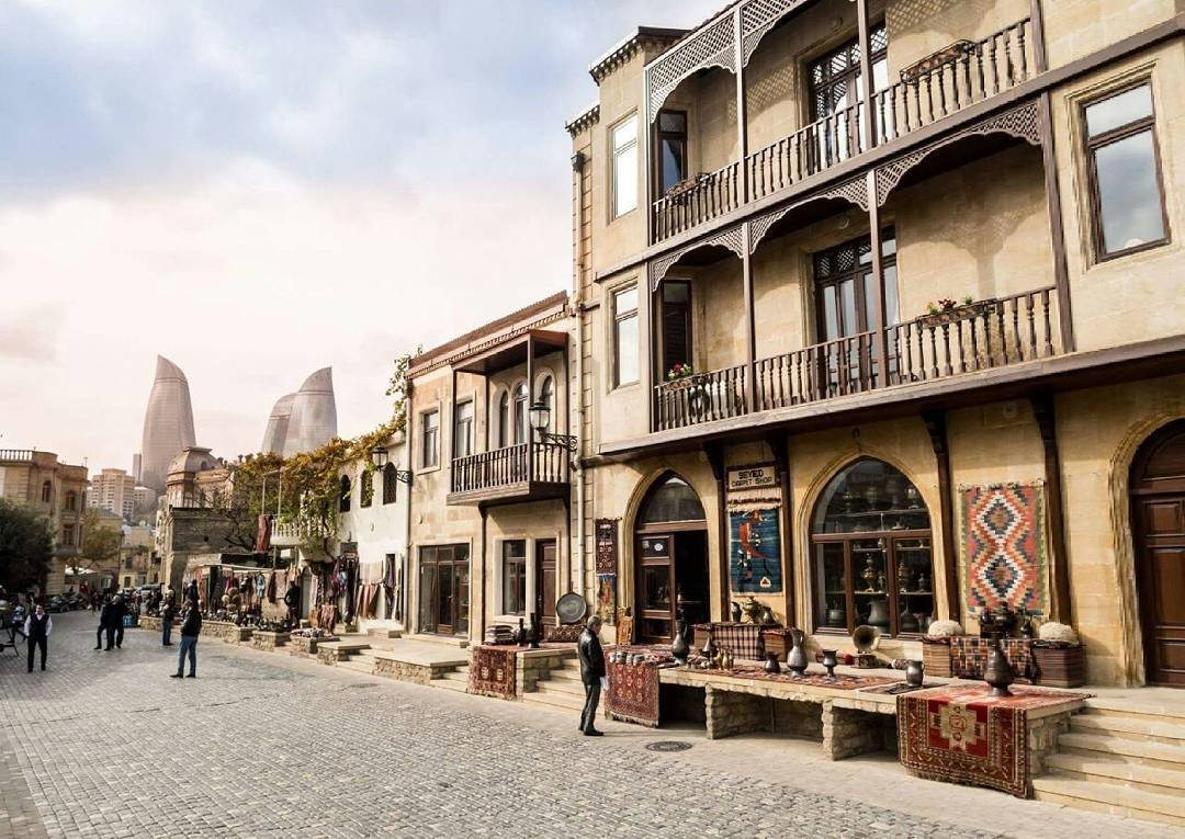 جولة سياحية فى مدينة باكو