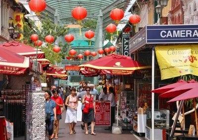 الحى الصينى فى سنغافورة