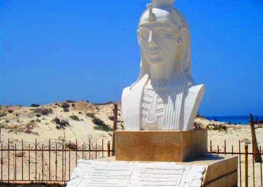 Kleopatrastrand Marsa Matrouh Ägypten