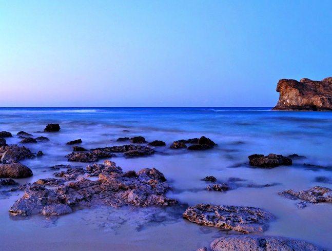 شاطئ كليوباترا مرسى مطروح مصر