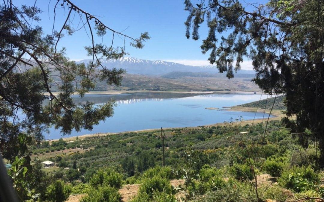 Baraj ve göl Qaraoun