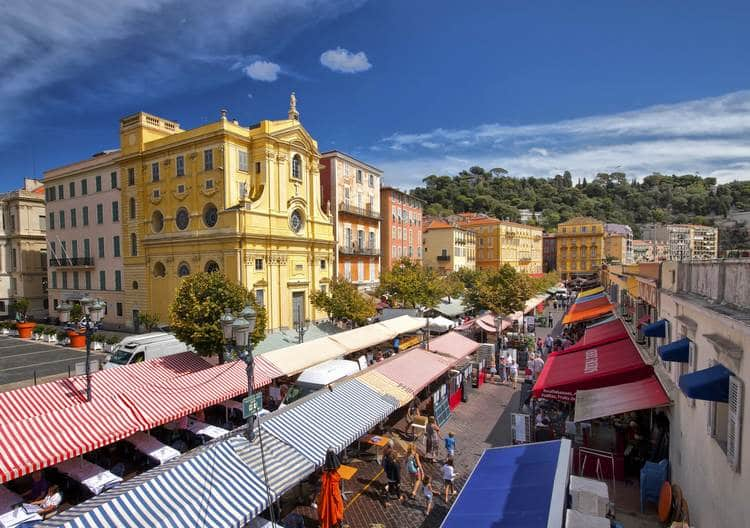 Best places to shop in Nice French