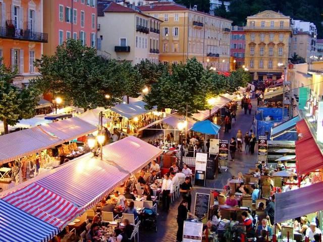 اهم الانشطة فى سوق زهره كورساليا فرنسا | سوق زهرة كورساليا فى فرنسا