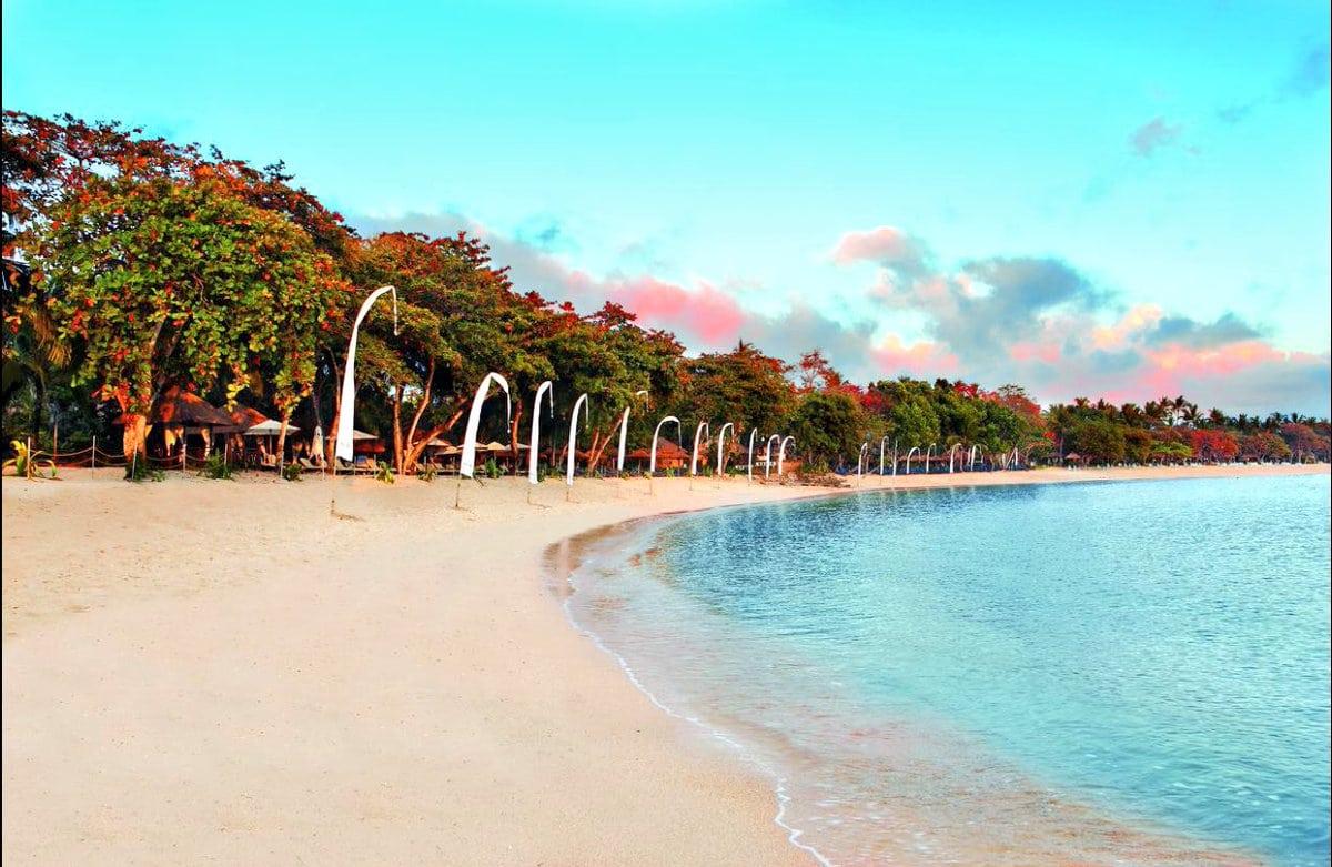 شاطئ إيكو في بالي