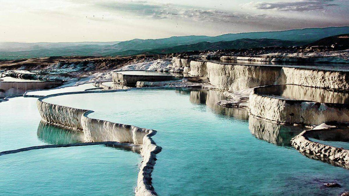حمامات الينابيع الساخنة بورصة تركيا