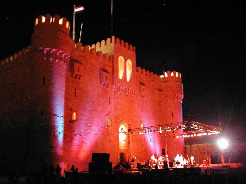 قلعة قايتباى مصر