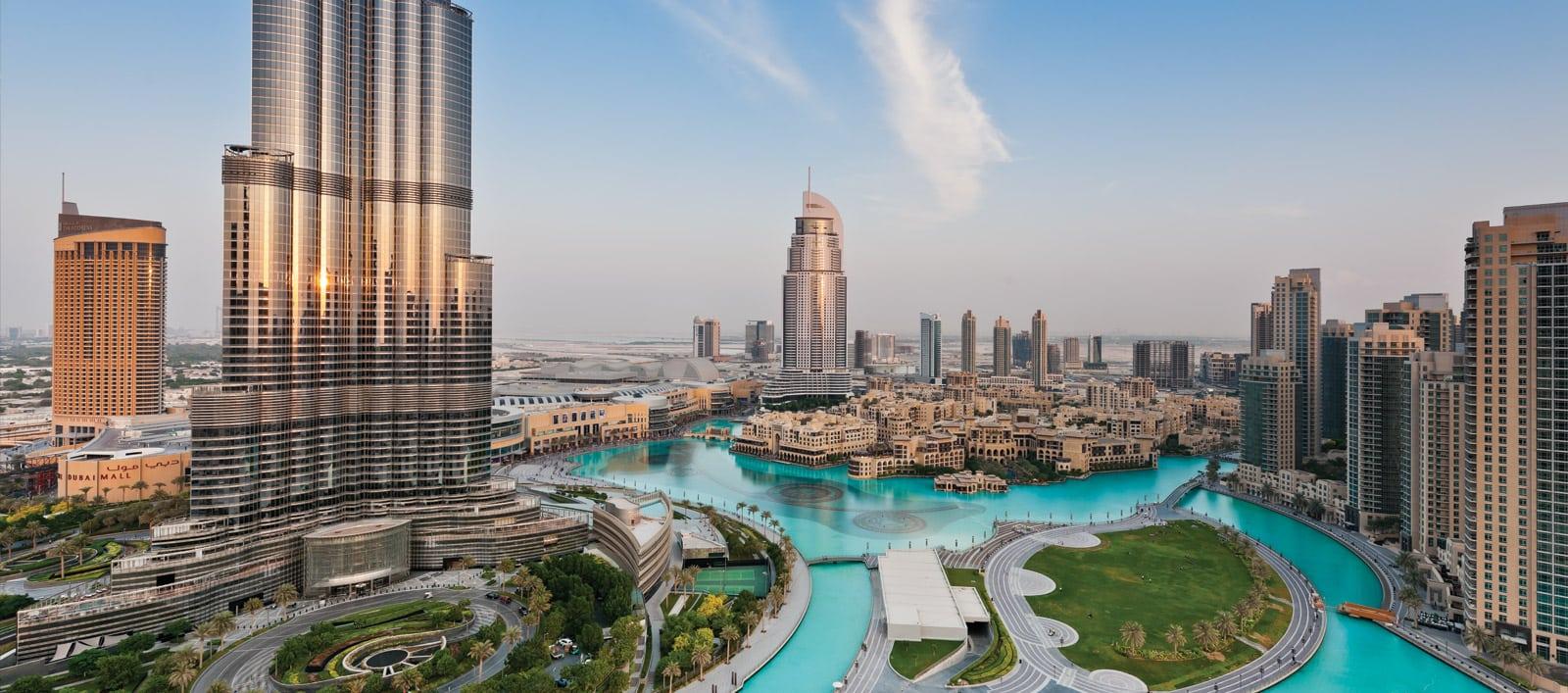 حديقة البرج في دبي