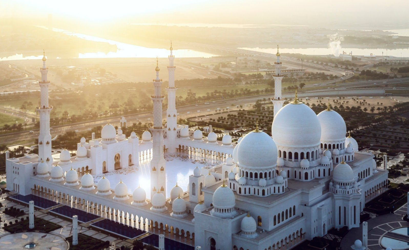 مسجد الشيخ زأيد أبوظبي الامارات
