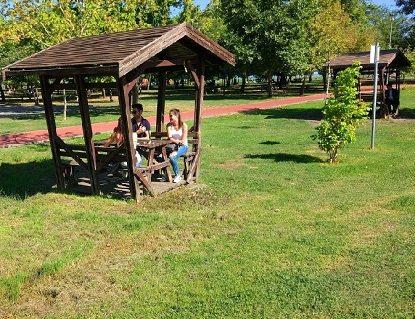 أنشطة في حديقة الشرق في سامسون تركيا