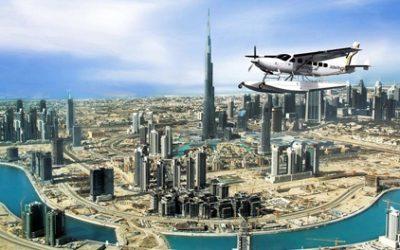 Penerbangan ke kapal terbang Dubai