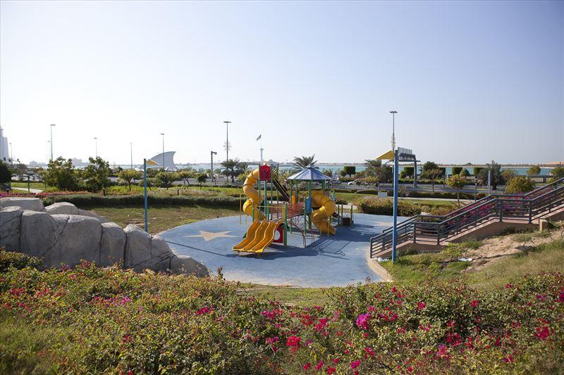 أنشطة في حديقة الأسرة بأبو ظبي