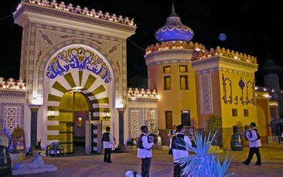 라스 모하메드 (Ras Mohamed)와 샴 (Sharm)에서 열리는 천 밤의 여행