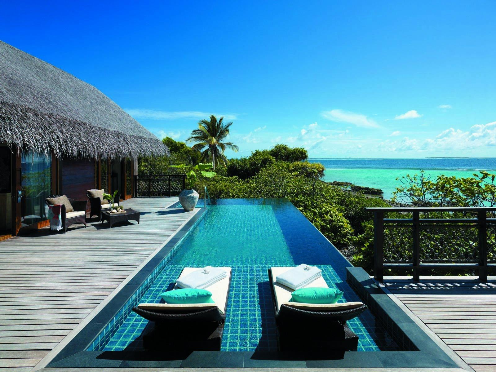 جزيرة Utheemu في المالديف