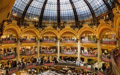 Tour delle Galeries Lafayette a Parigi