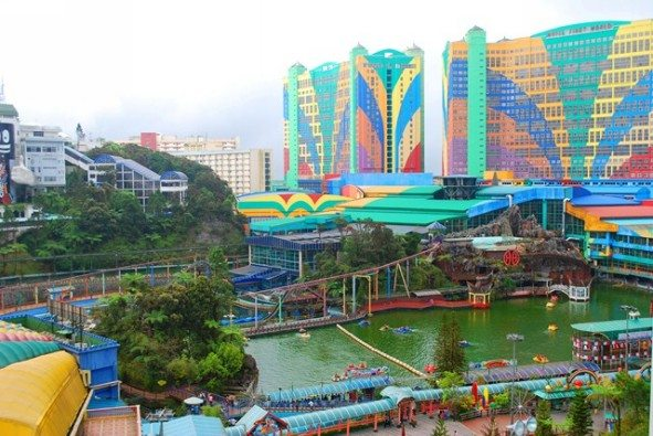 أفضل أنشطة في ملاهي جنتنج هايلاند في ماليزيا | ملاهى جنتنج ماليزيا