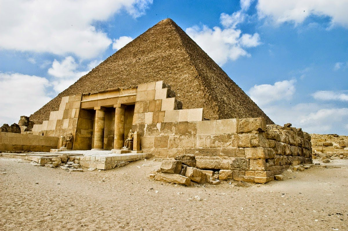 الهرم الاكبر خوفو مصر