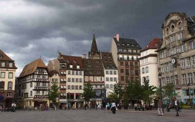 Tur di Gothenburg Square di Strasbourg