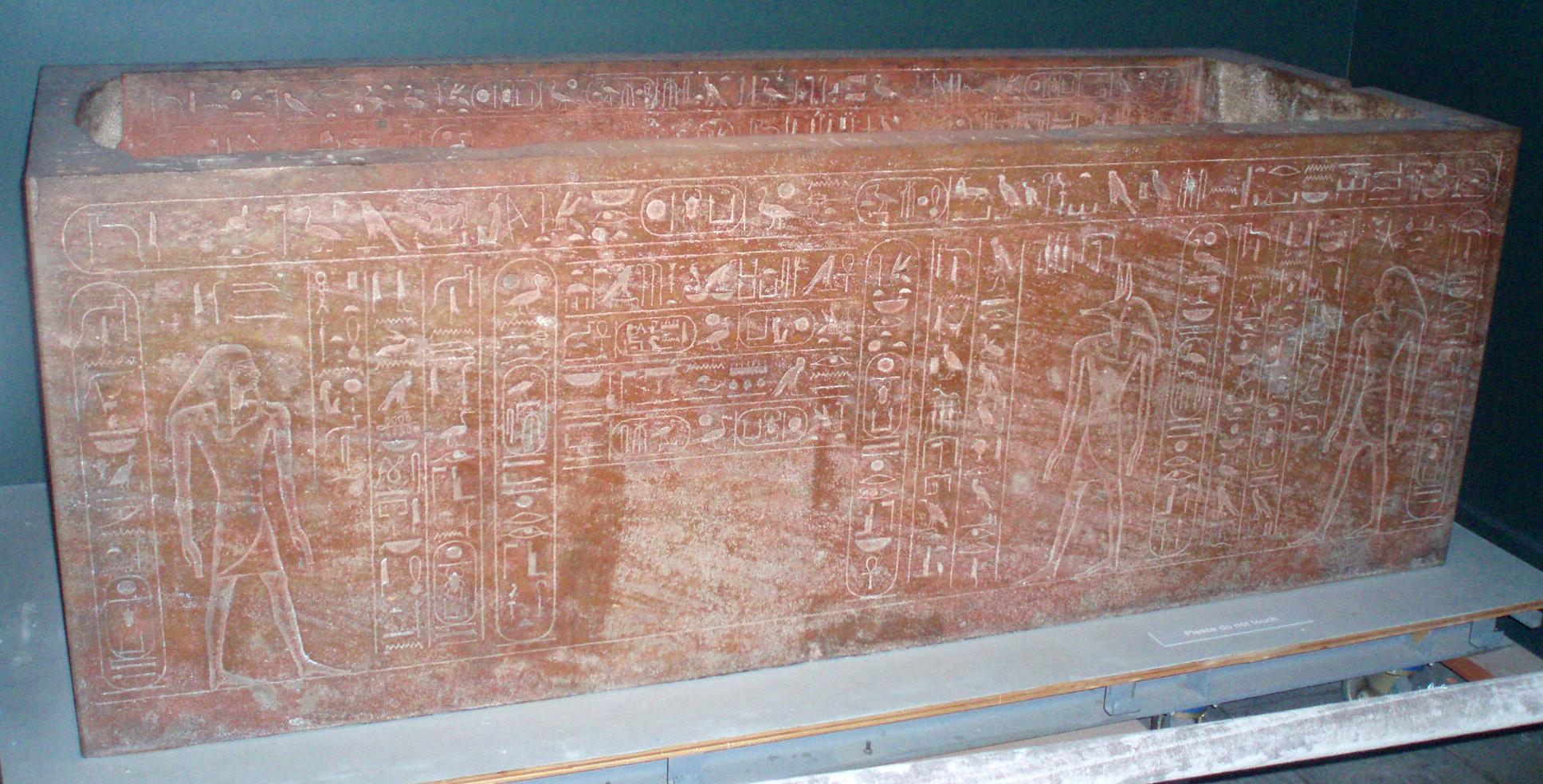 HatshepsutSarcophagus-اهم المعلومات عن اختفاء الفراعنه