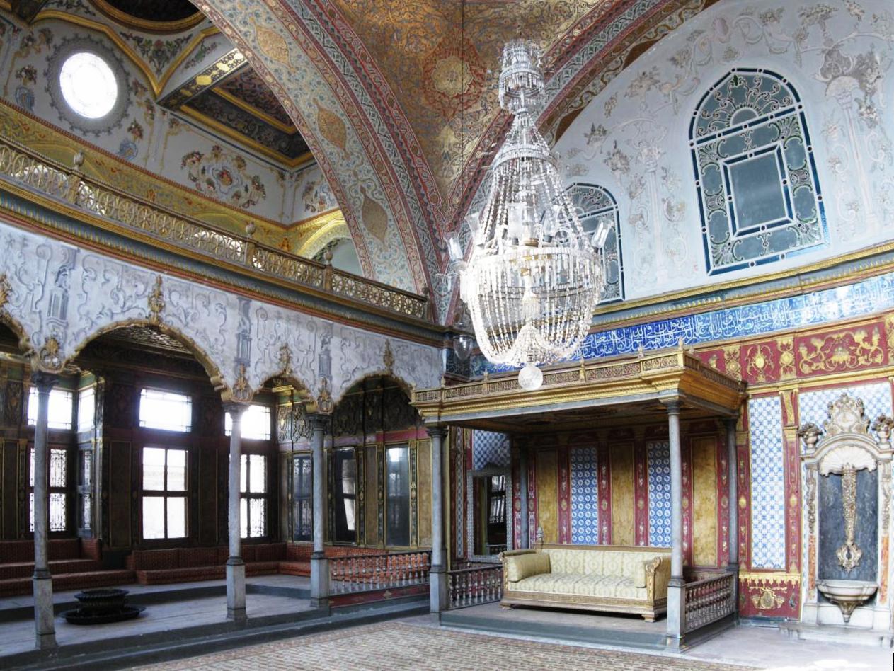 أنشطة في قصر توبكابي أسطنبول تركيا