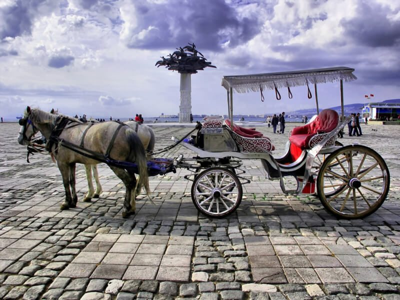 المعالم السياحيه فى مدينه ازمير