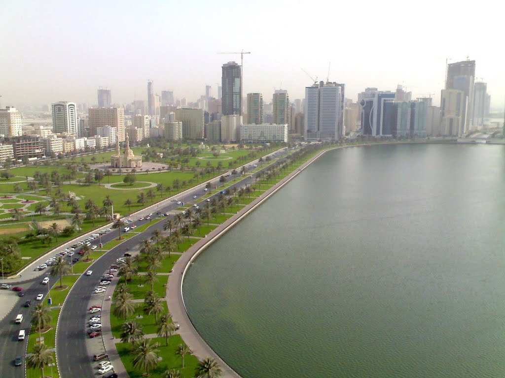 أنشطة في بحيرة خالد الشارقة الامارات