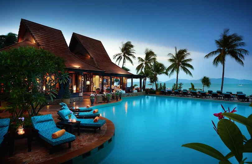 أفضل اماكن السياحة في كوساموي تايلاند