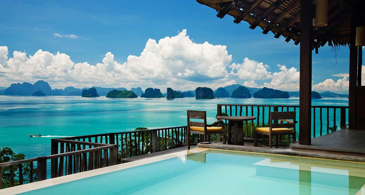 اهم الفنادق المفضله  والمتميزة التى يمكن الذهاب اليها للاقامة فى تايلاند