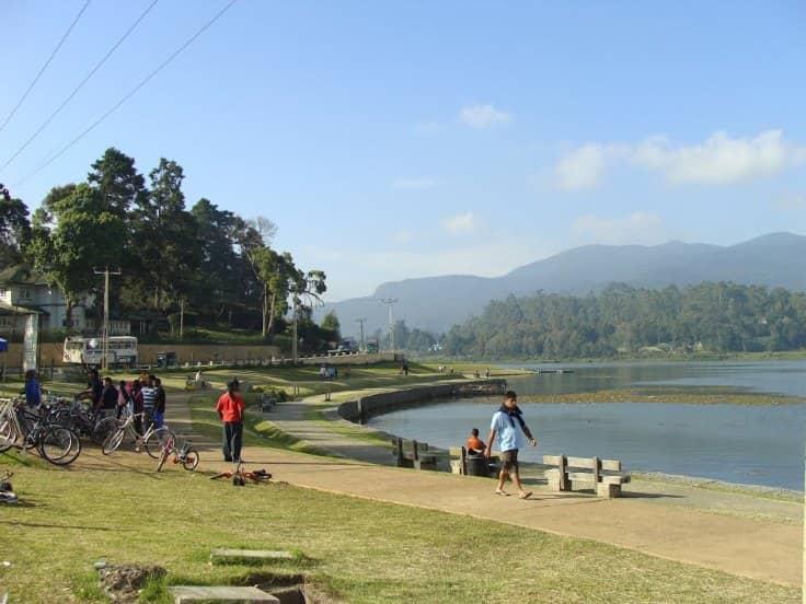 أنشطة في منتزه بحيرة جريجوري نوراليا سريلانكا