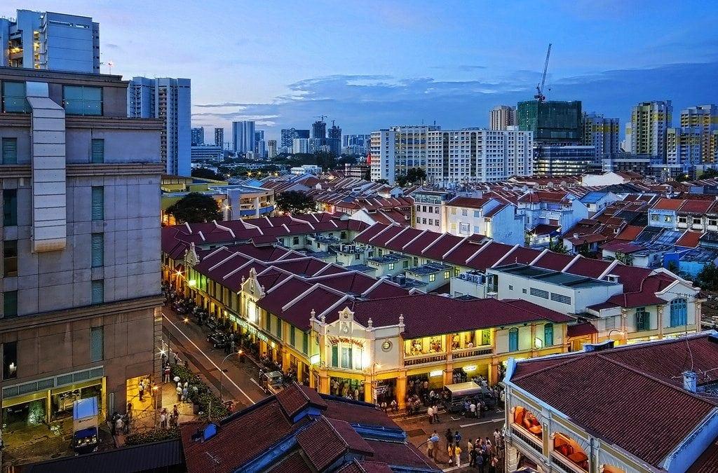 الحى الهندى فى سنغافورة