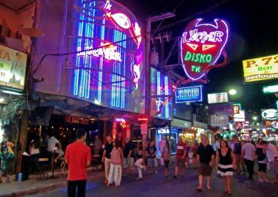 شارع بات بونغ فى بانكوك