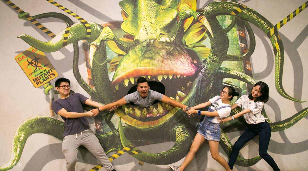 المتحف التفاعلي صنع في بينانج ماليزيا