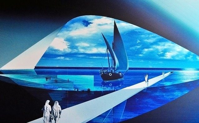 المتحف المائي في ابوظبي الامارات