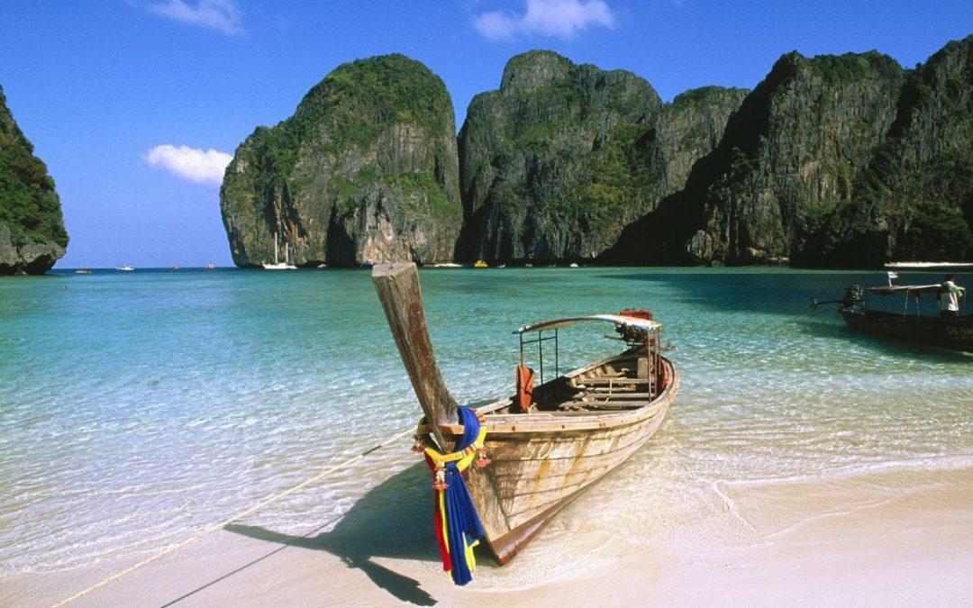 رحلة بحرية الى جزيرة بى بى