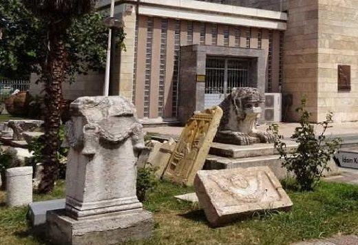 أنشطة في متحف الآثار والإثنوغرافيا في سامسون تركيا