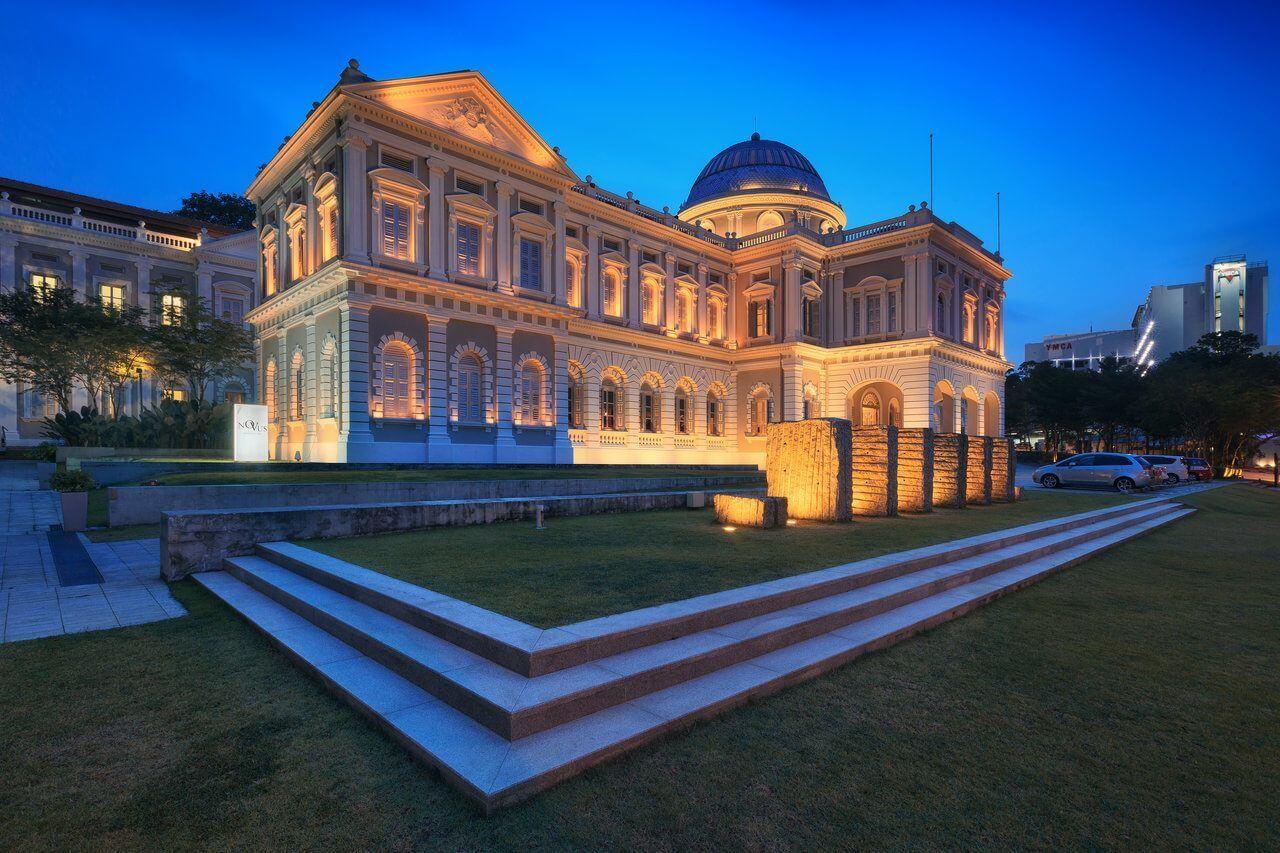 متحف سنغافورة الوطني National Museum of Singapore من اهم