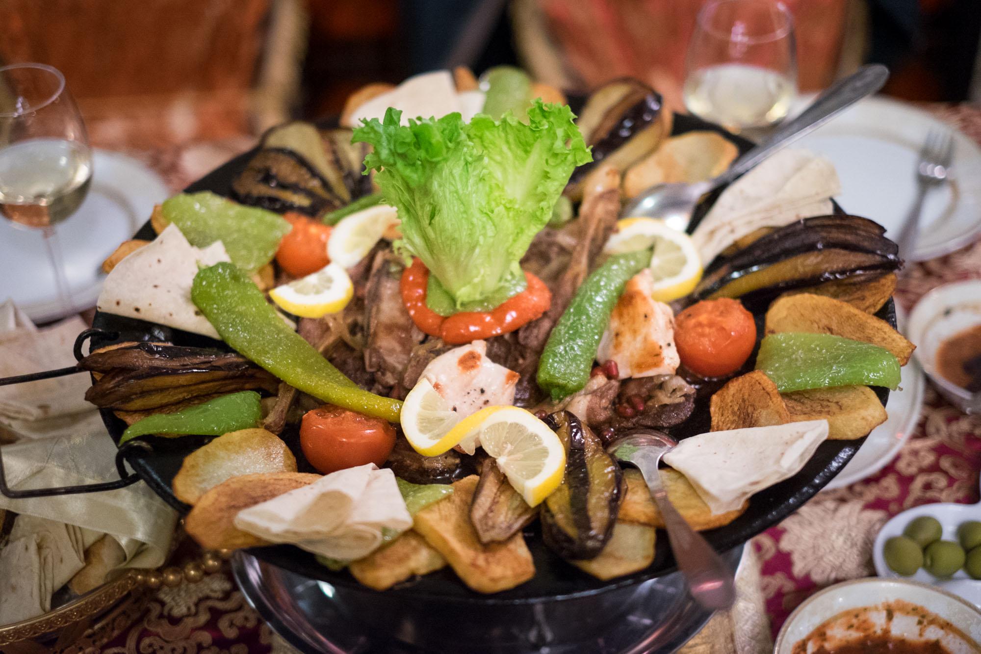 الاكلات المتميزه في اذربيجان