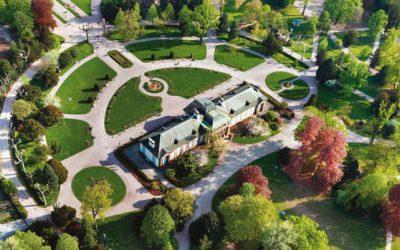 Orangerie公園遊覽在史特拉斯堡