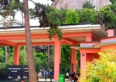 جولة في حديقة الحيوانات باريس