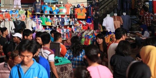 سوق بارو في جاكارتا اندونيسيا