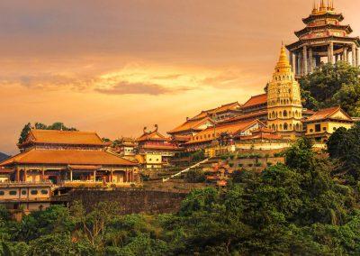 معبد سرى ماريمان جزيره بينانج