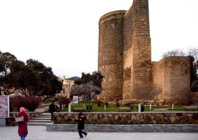 برج العذراء فى باكو